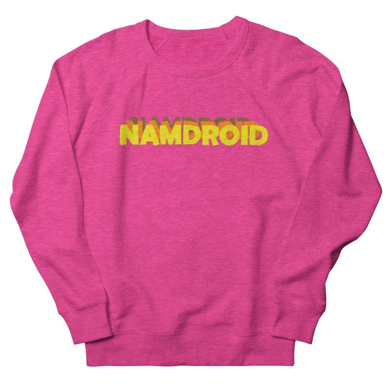 Meeting Comics: NAMDROID LOGO Men's French Terry Sweatshirt by Wander Lane Threadless Shop