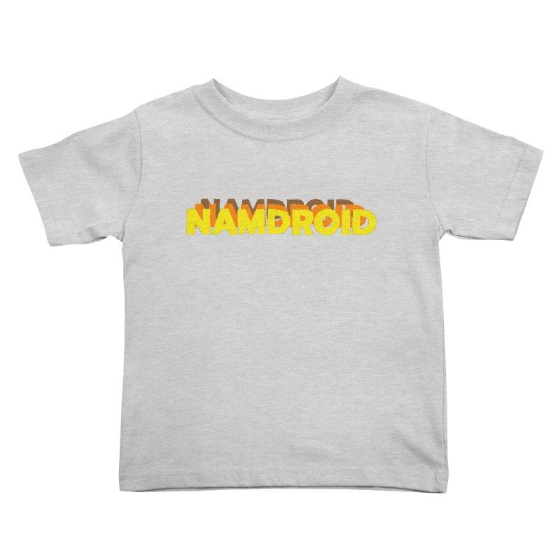 Meeting Comics: NAMDROID LOGO Kids Toddler T-Shirt by Wander Lane Threadless Shop