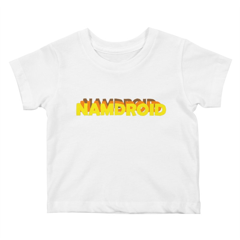 Meeting Comics: NAMDROID LOGO Kids Baby T-Shirt by Wander Lane Threadless Shop