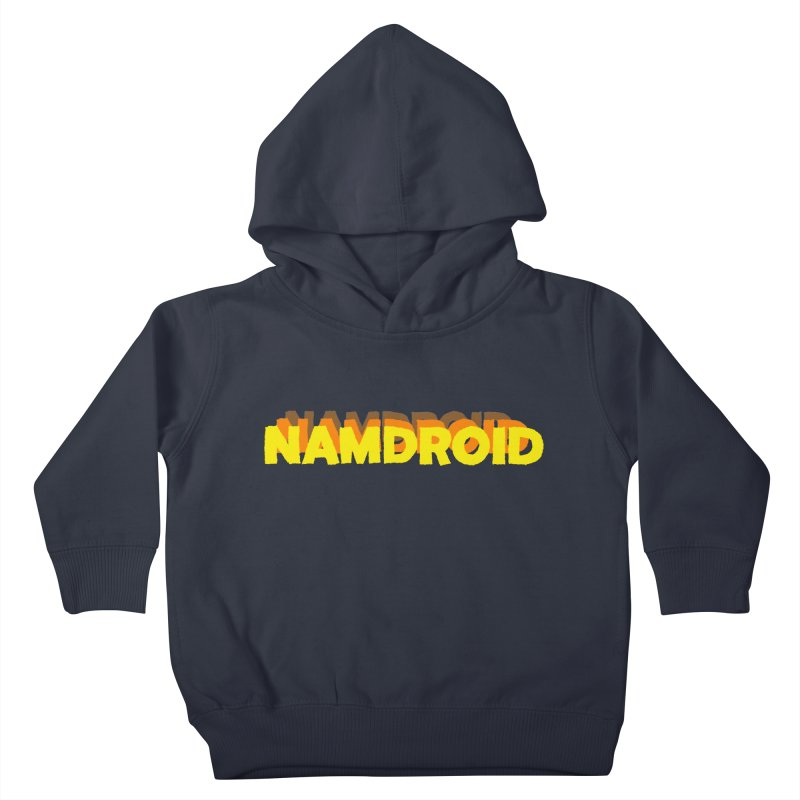 Meeting Comics: NAMDROID LOGO Kids Toddler Pullover Hoody by Wander Lane Threadless Shop