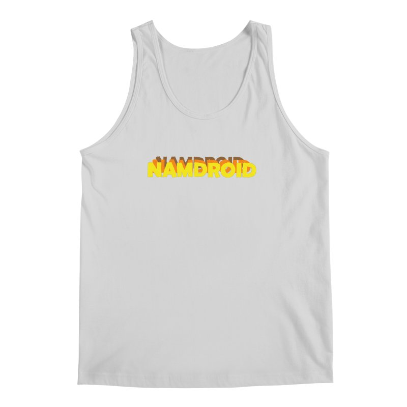 Meeting Comics: NAMDROID LOGO Men's Regular Tank by Wander Lane Threadless Shop