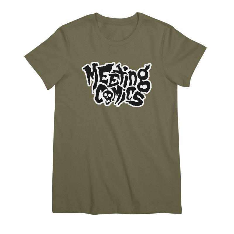 Meeting Comics Logo - burglar Women's Premium T-Shirt by Wander Lane Threadless Shop