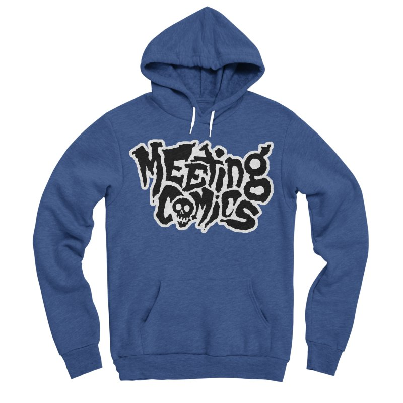 Meeting Comics Logo - burglar Men's Sponge Fleece Pullover Hoody by Wander Lane Threadless Shop