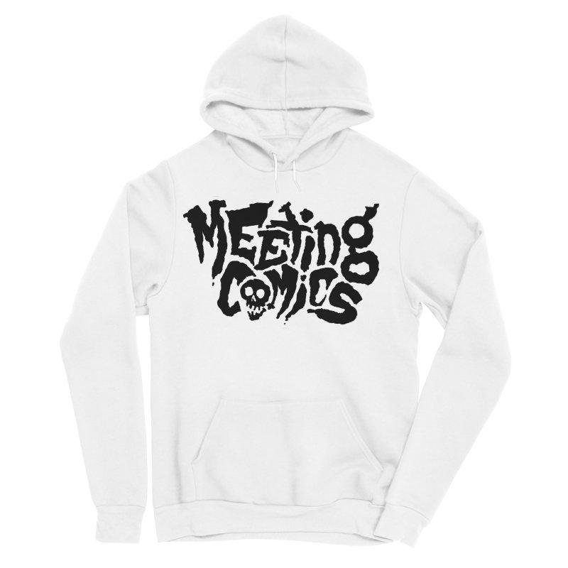 Meeting Comics Logo - burglar Men's Sponge Fleece Pullover Hoody by Wander Lane Threadless Shop