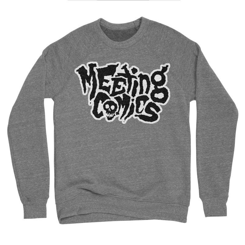 Meeting Comics Logo - burglar Men's Sponge Fleece Sweatshirt by Wander Lane Threadless Shop