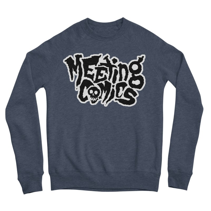 Meeting Comics Logo - burglar Women's Sponge Fleece Sweatshirt by Wander Lane Threadless Shop