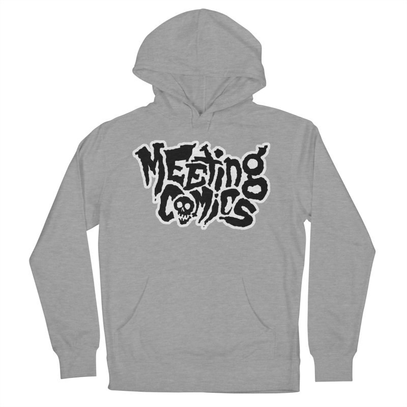 Meeting Comics Logo - burglar Women's French Terry Pullover Hoody by Wander Lane Threadless Shop