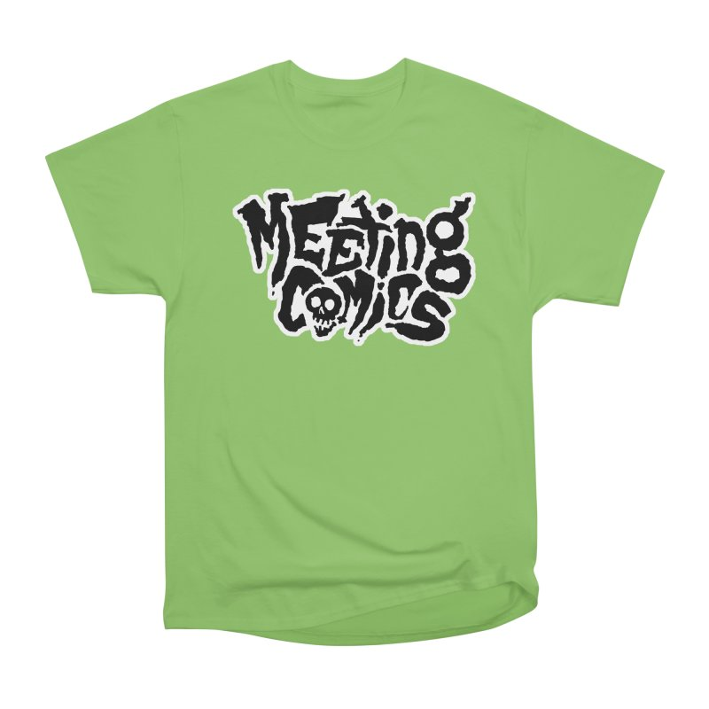 Meeting Comics Logo - burglar Men's Heavyweight T-Shirt by Wander Lane Threadless Shop