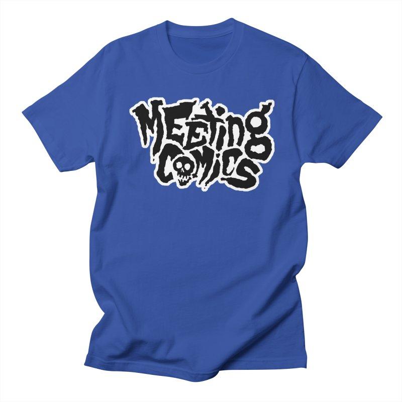 Meeting Comics Logo - burglar Men's Regular T-Shirt by Wander Lane Threadless Shop