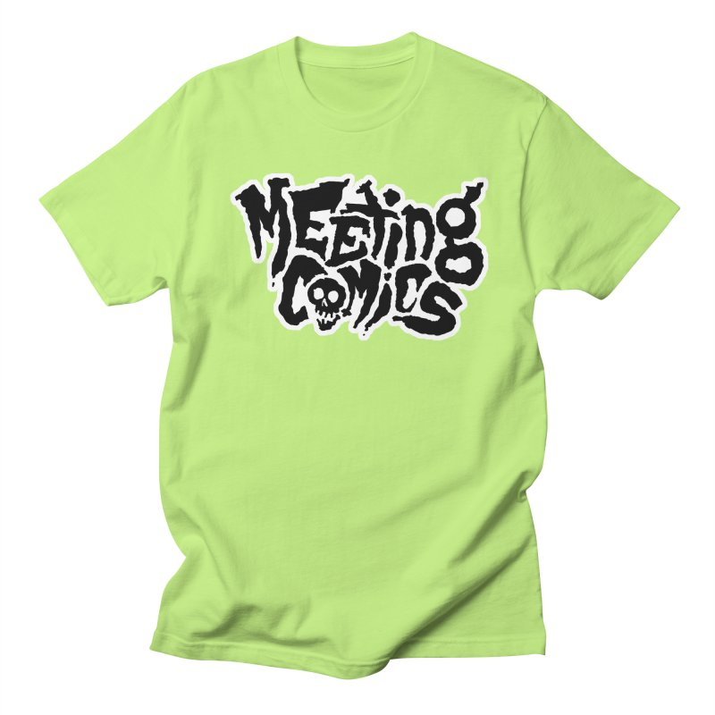 Meeting Comics Logo - burglar Women's Regular Unisex T-Shirt by Wander Lane Threadless Shop
