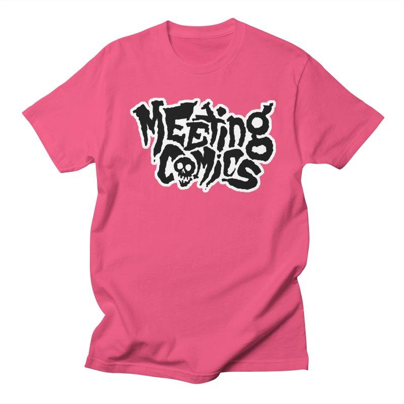 Meeting Comics Logo - burglar Women's Regular Unisex T-Shirt by Wander Lane Threadless Shop