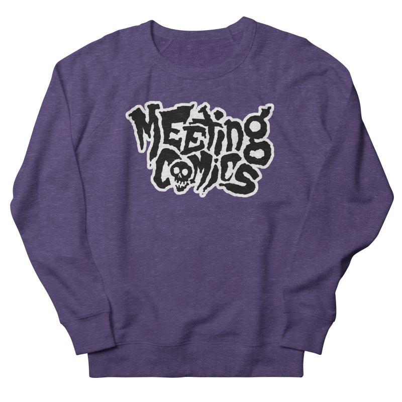 Meeting Comics Logo - burglar Women's French Terry Sweatshirt by Wander Lane Threadless Shop