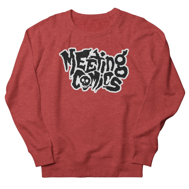 Meeting Comics Logo - burglar Men's French Terry Sweatshirt by Wander Lane Threadless Shop