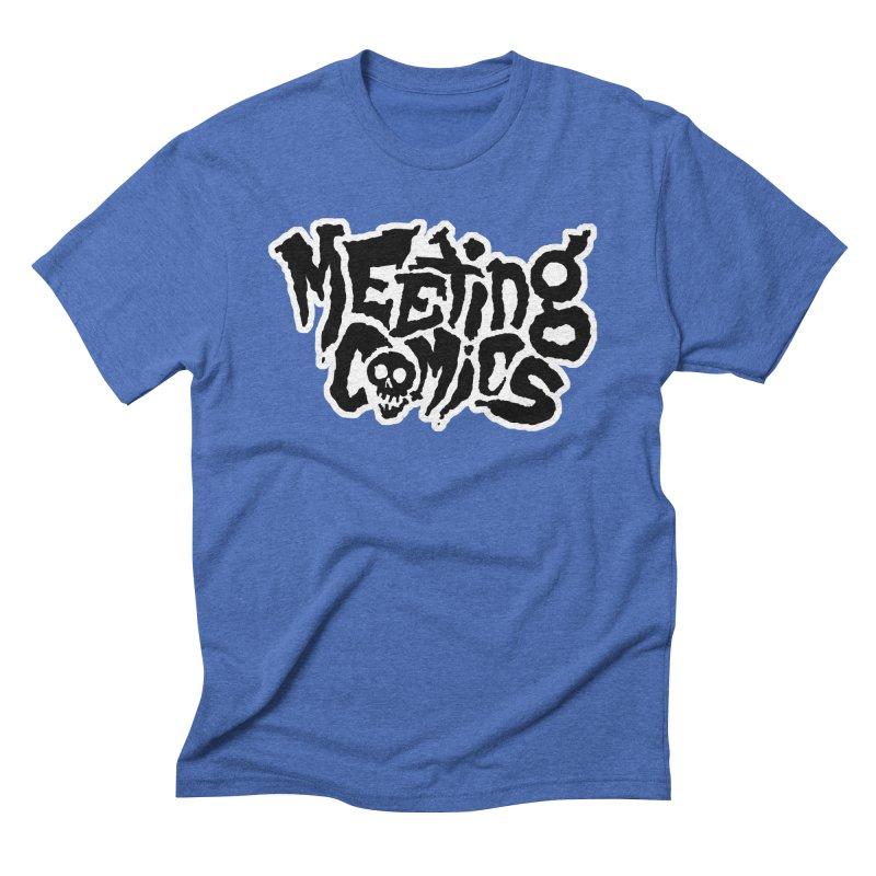 Meeting Comics Logo - burglar Men's Triblend T-Shirt by Wander Lane Threadless Shop