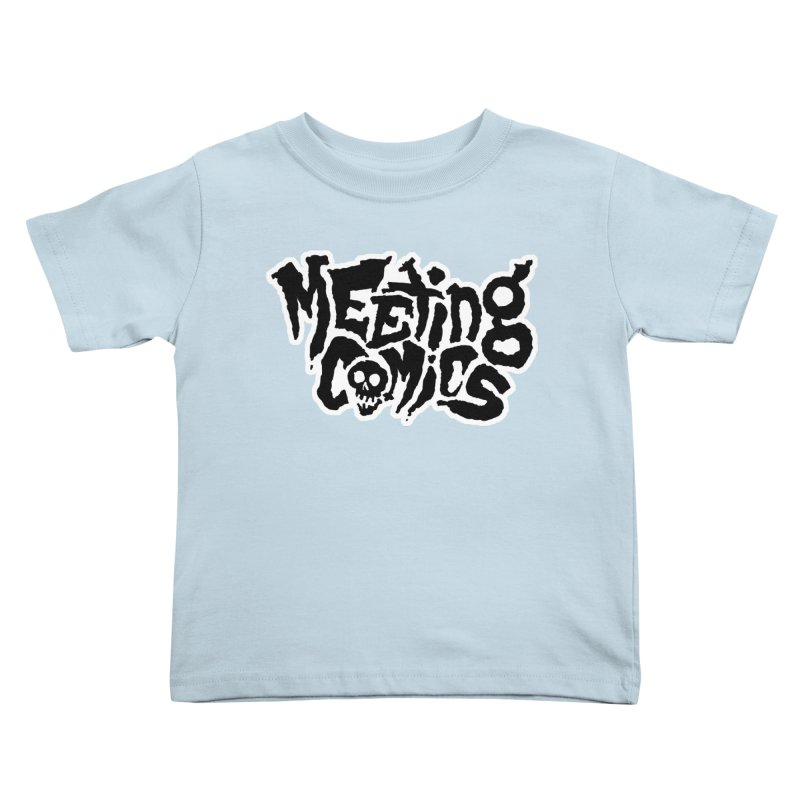 Meeting Comics Logo - burglar Kids Toddler T-Shirt by Wander Lane Threadless Shop