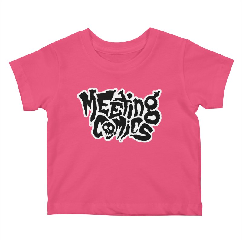 Meeting Comics Logo - burglar Kids Baby T-Shirt by Wander Lane Threadless Shop