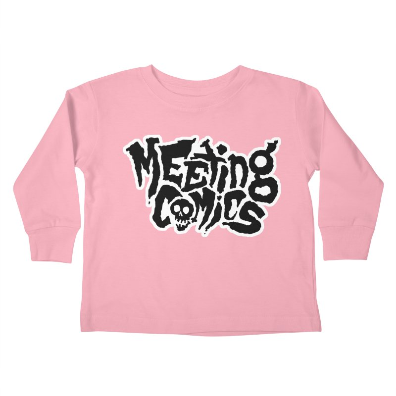 Meeting Comics Logo - burglar Kids Toddler Longsleeve T-Shirt by Wander Lane Threadless Shop