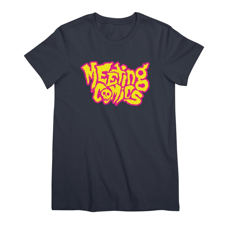 Meeting Comics Logo - lemonade Women's Premium T-Shirt by Wander Lane Threadless Shop