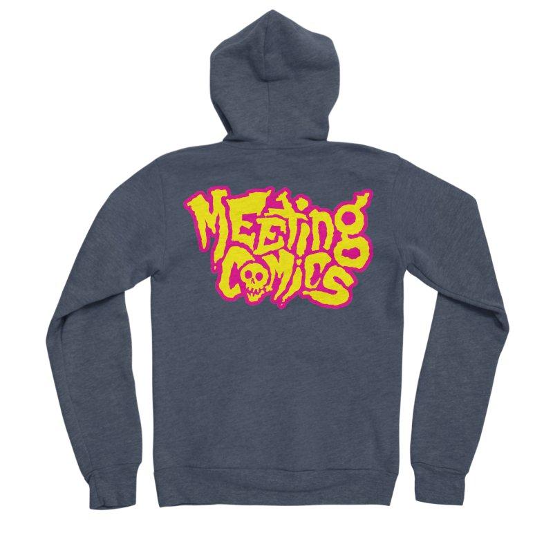 Meeting Comics Logo - lemonade Men's Sponge Fleece Zip-Up Hoody by Wander Lane Threadless Shop