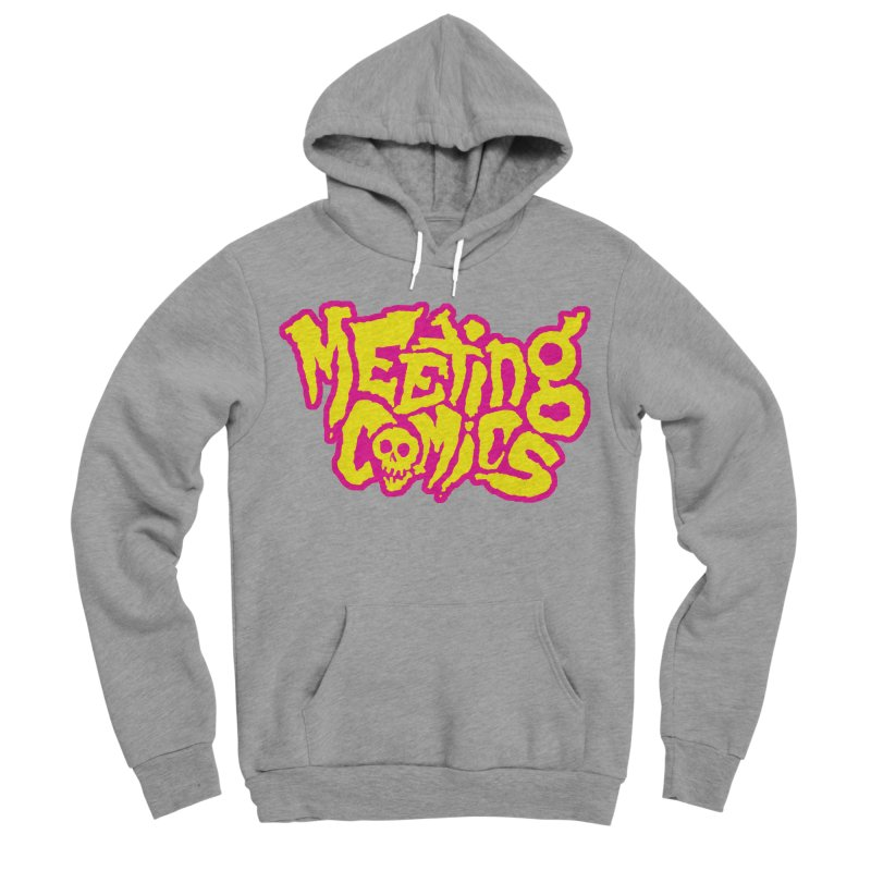 Meeting Comics Logo - lemonade Men's Sponge Fleece Pullover Hoody by Wander Lane Threadless Shop