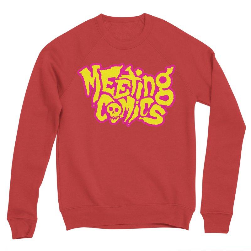 Meeting Comics Logo - lemonade Men's Sponge Fleece Sweatshirt by Wander Lane Threadless Shop