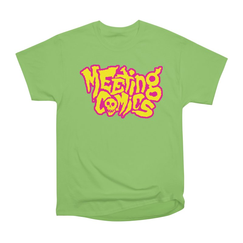 Meeting Comics Logo - lemonade Women's Heavyweight Unisex T-Shirt by Wander Lane Threadless Shop
