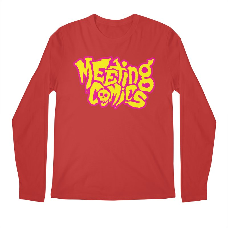 Meeting Comics Logo - lemonade Men's Regular Longsleeve T-Shirt by Wander Lane Threadless Shop