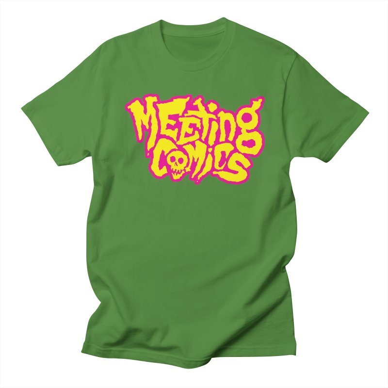 Meeting Comics Logo - lemonade Men's Regular T-Shirt by Wander Lane Threadless Shop