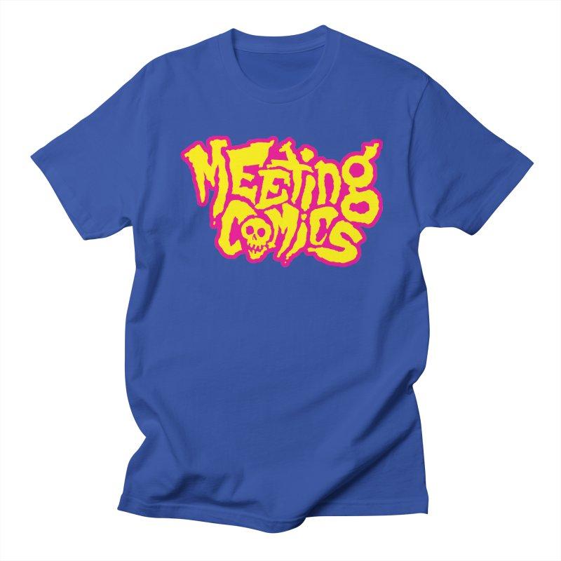 Meeting Comics Logo - lemonade Men's Regular T-Shirt by Wander Lane Threadless Shop