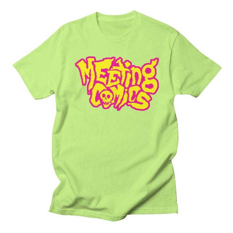 Meeting Comics Logo - lemonade Women's Regular Unisex T-Shirt by Wander Lane Threadless Shop