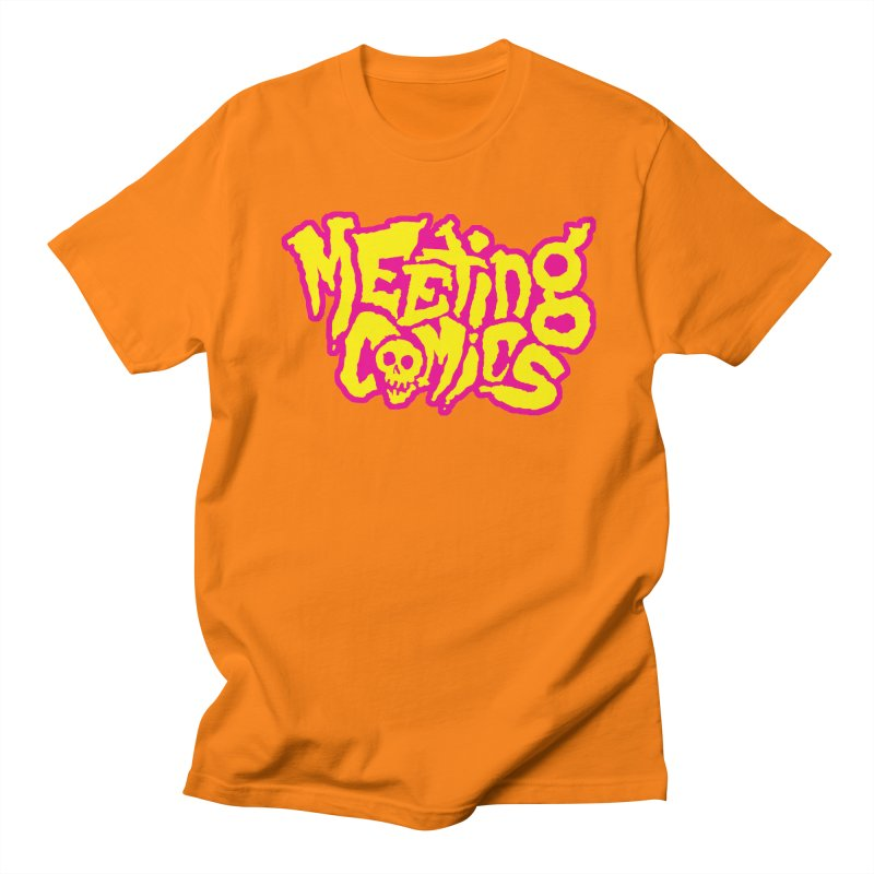 Meeting Comics Logo - lemonade Women's Regular Unisex T-Shirt by Wander Lane Threadless Shop