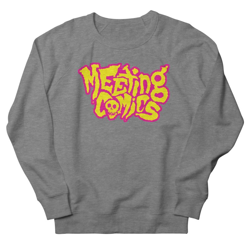 Meeting Comics Logo - lemonade Men's French Terry Sweatshirt by Wander Lane Threadless Shop