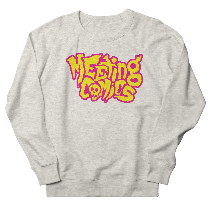 Meeting Comics Logo - lemonade Men's French Terry Sweatshirt by Wander Lane Threadless Shop