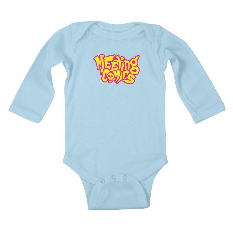 Meeting Comics Logo - lemonade Kids Baby Longsleeve Bodysuit by Wander Lane Threadless Shop