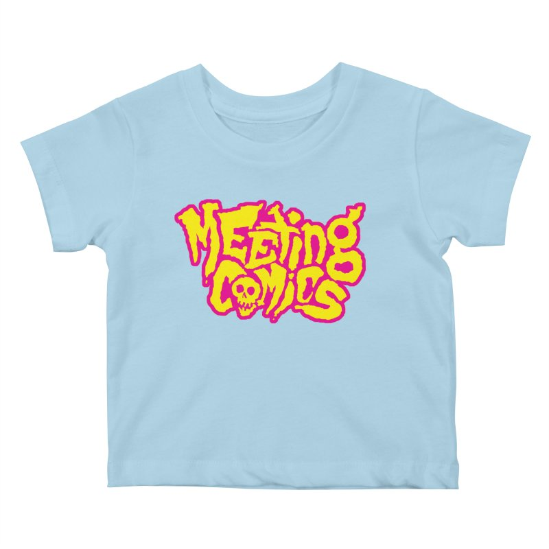 Meeting Comics Logo - lemonade Kids Baby T-Shirt by Wander Lane Threadless Shop