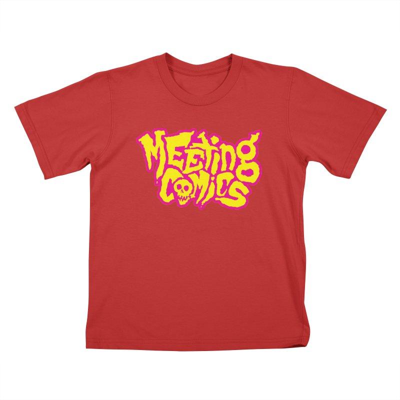 Meeting Comics Logo - lemonade Kids T-Shirt by Wander Lane Threadless Shop