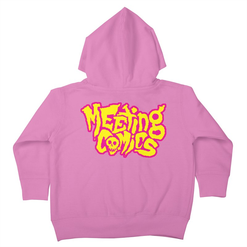 Meeting Comics Logo - lemonade Kids Toddler Zip-Up Hoody by Wander Lane Threadless Shop