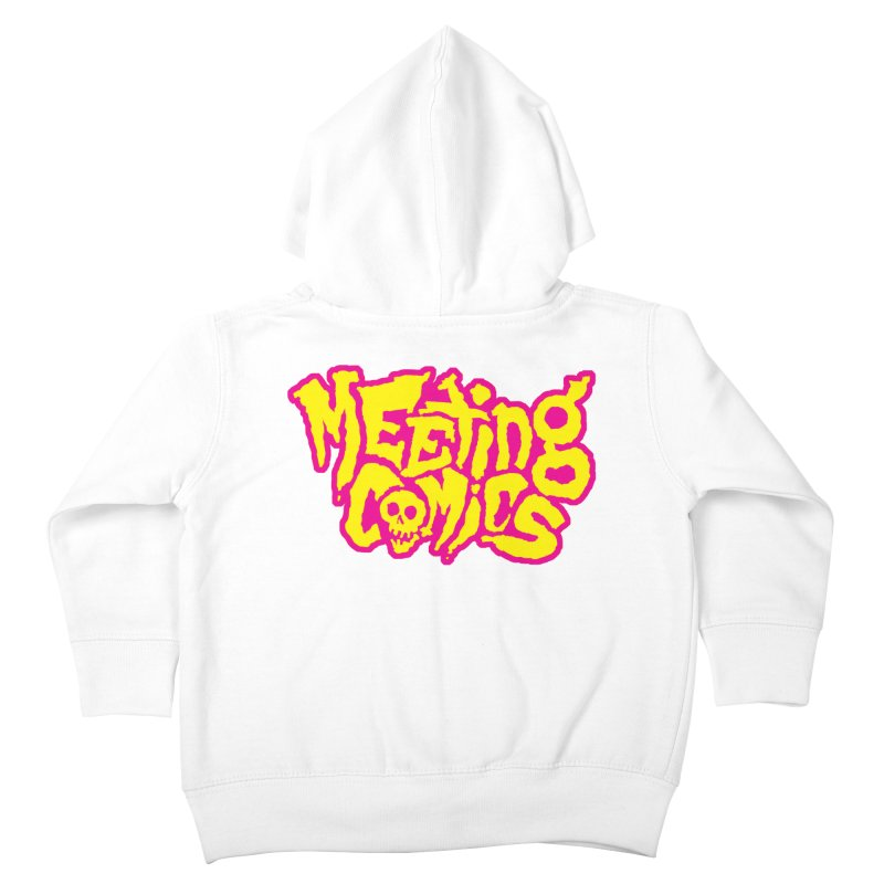 Meeting Comics Logo - lemonade Kids Toddler Zip-Up Hoody by Wander Lane Threadless Shop