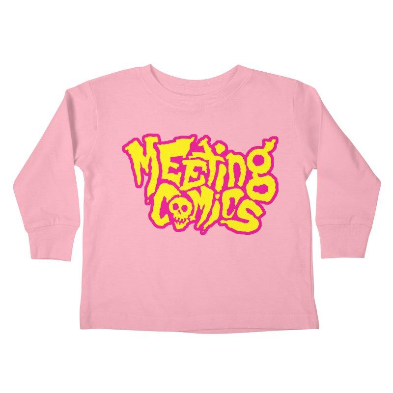 Meeting Comics Logo - lemonade Kids Toddler Longsleeve T-Shirt by Wander Lane Threadless Shop