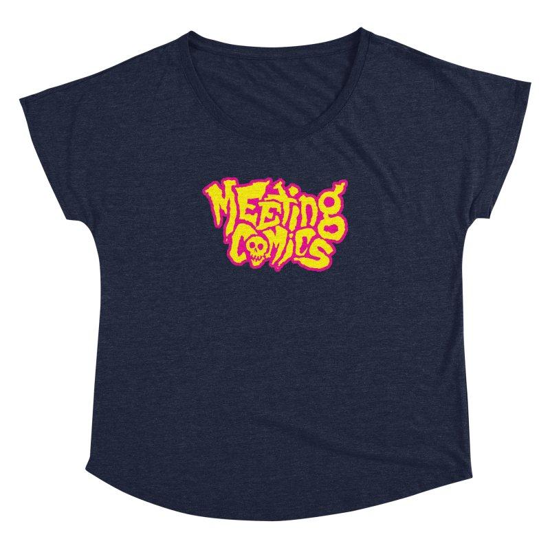 Meeting Comics Logo - lemonade Women's Dolman Scoop Neck by Wander Lane Threadless Shop