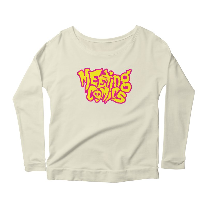 Meeting Comics Logo - lemonade Women's Scoop Neck Longsleeve T-Shirt by Wander Lane Threadless Shop