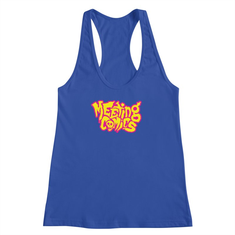 Meeting Comics Logo - lemonade Women's Racerback Tank by Wander Lane Threadless Shop