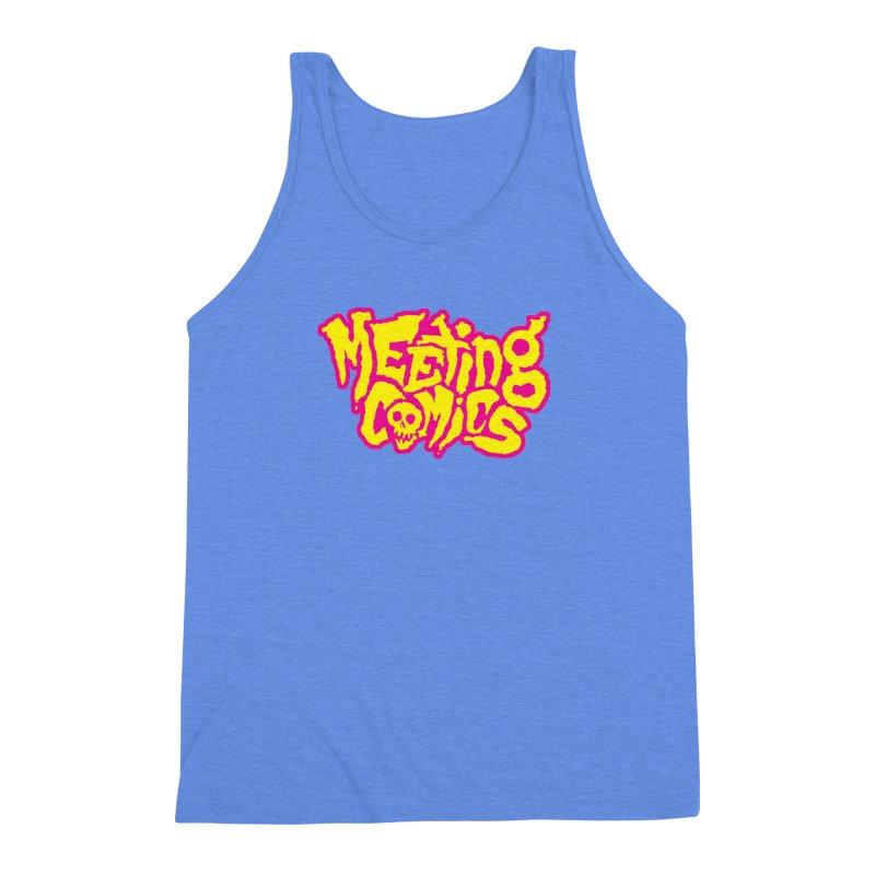 Meeting Comics Logo - lemonade Men's Triblend Tank by Wander Lane Threadless Shop