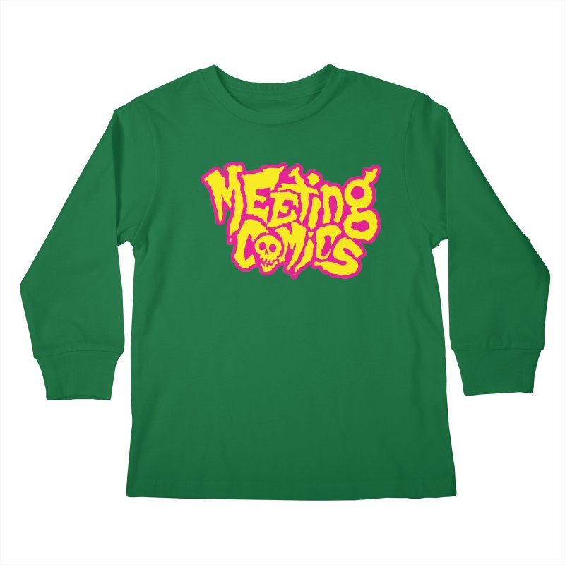 Meeting Comics Logo - lemonade Kids Longsleeve T-Shirt by Wander Lane Threadless Shop
