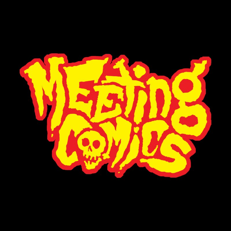Meeting Comics Logo - primary by Wander Lane Threadless Shop