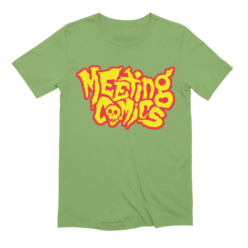 Meeting Comics Logo - primary Men's Extra Soft T-Shirt by Wander Lane Threadless Shop