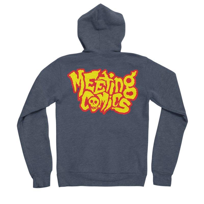 Meeting Comics Logo - primary Women's Sponge Fleece Zip-Up Hoody by Wander Lane Threadless Shop