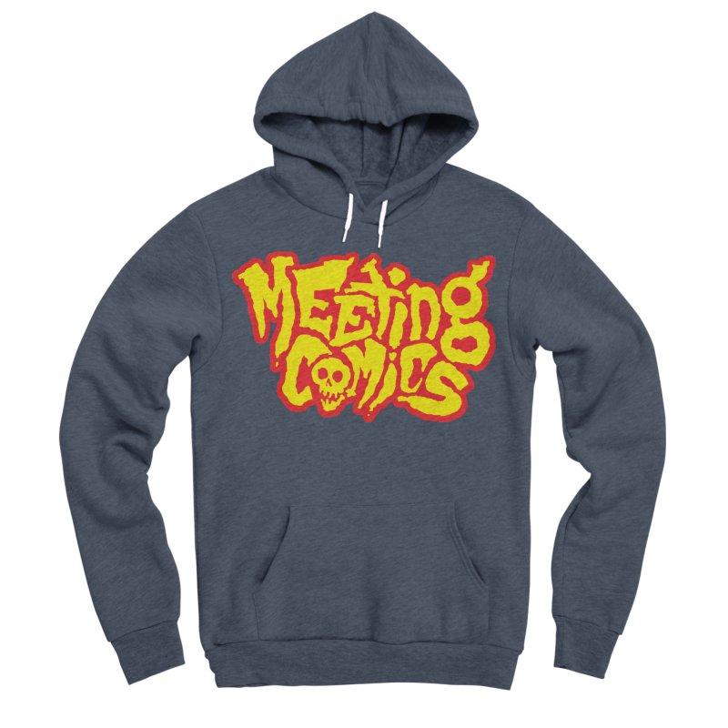 Meeting Comics Logo - primary Men's Sponge Fleece Pullover Hoody by Wander Lane Threadless Shop
