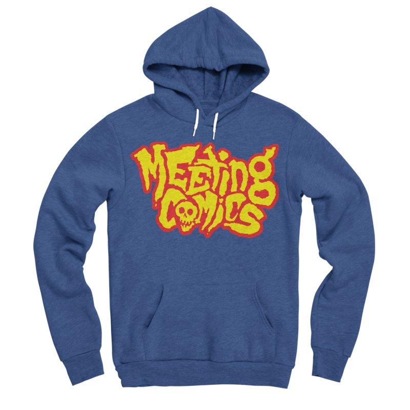 Meeting Comics Logo - primary Women's Sponge Fleece Pullover Hoody by Wander Lane Threadless Shop