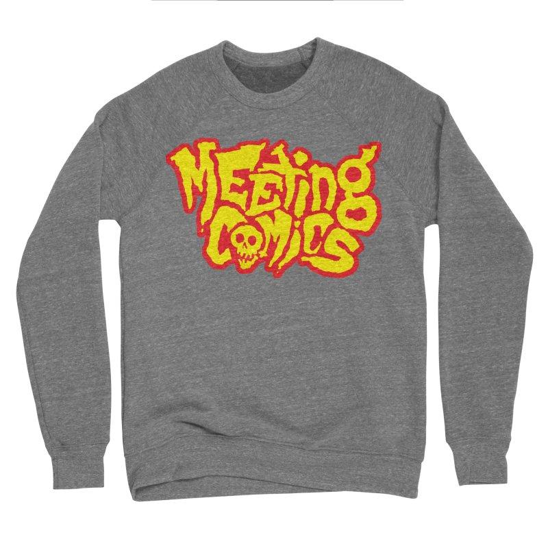 Meeting Comics Logo - primary Men's Sponge Fleece Sweatshirt by Wander Lane Threadless Shop